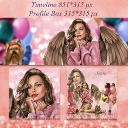Lucy Valentine design Pink