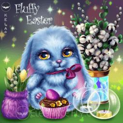 Fluffy Easter