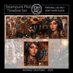 Steampunk Pilot Timeline Set