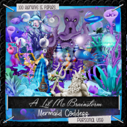 LMB Mermaid Goddess PU