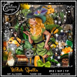 Witch Spells Kit