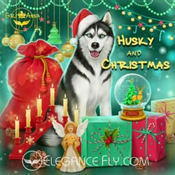 Husky and Christmas