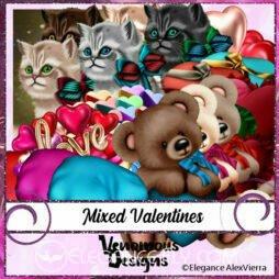 Mixed Valentines CU