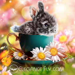 Tiny Bunny From EleganceFly