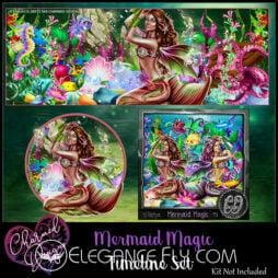 Mermaid Magic Timeline Set