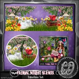 Floral Night Scents Timeline Set